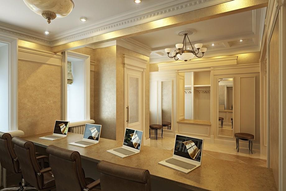 Phong cách thiết kế văn phòng tân cổ điển