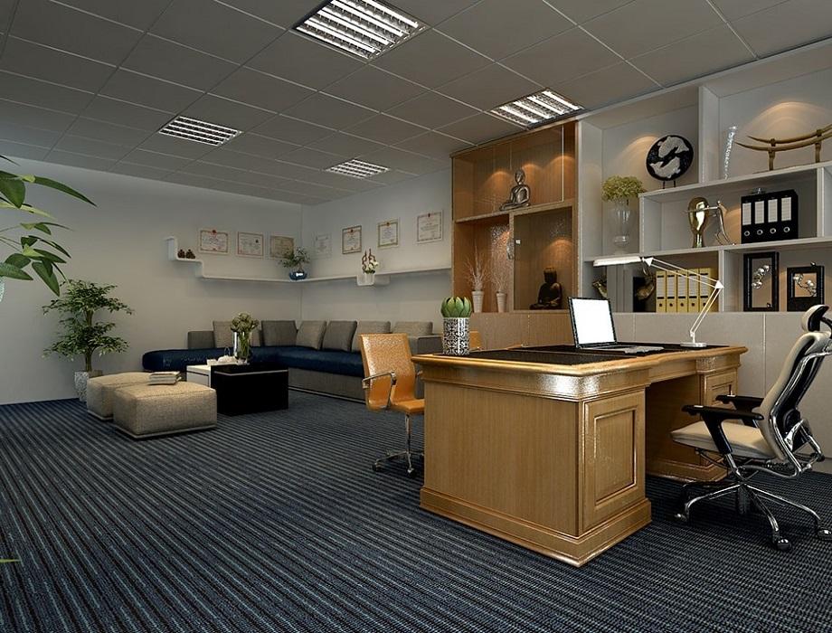 Cách bố trí, thiết kế không gian phòng Giám đốc