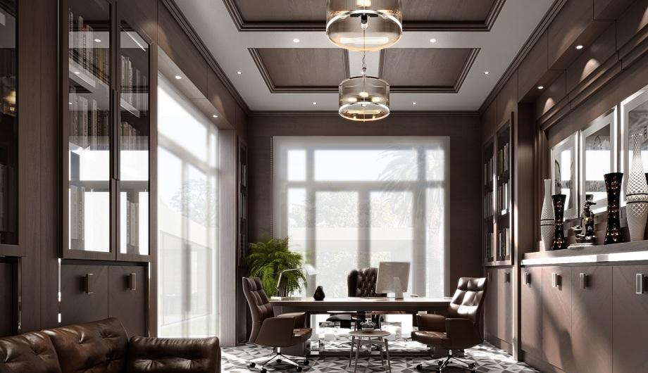 Phòng làm việc cho Chủ tịch là một nơi vô cùng quán trọng, bởi đó là người đứng đầu doanh nghiệp của bạn, họ cần được tôn vinh ngay trong chính những thiết kế văn phòng của mình.