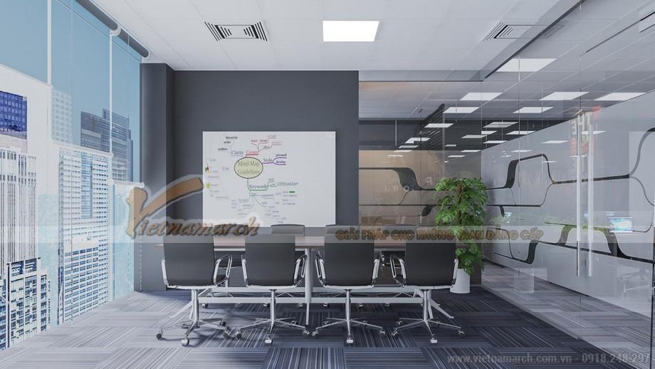 Mẫu trang trí văn phòng công ty bất động sản Bigstar