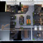 Dự án thiết kế thi công văn phòng công ty bất động sản Bigstar 150m2 tại tòa R6 Royal City