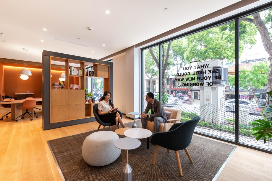 văn phòng coworking space Belvedere