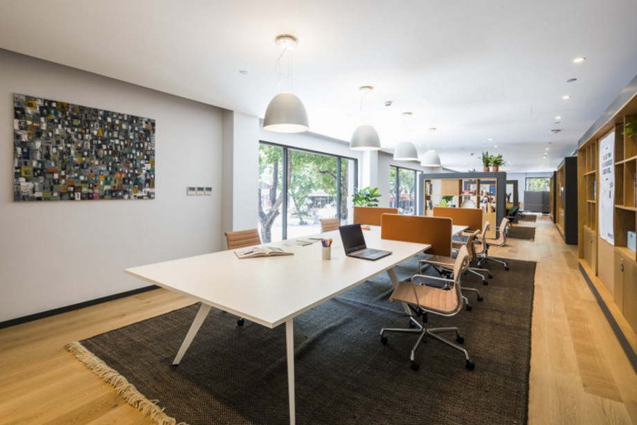 Thiết kế phòng họp trong coworking space