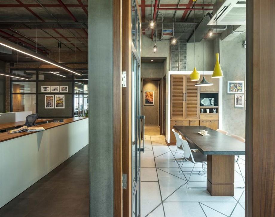 Thiết kế văn phòng mở cho công ty tài chính