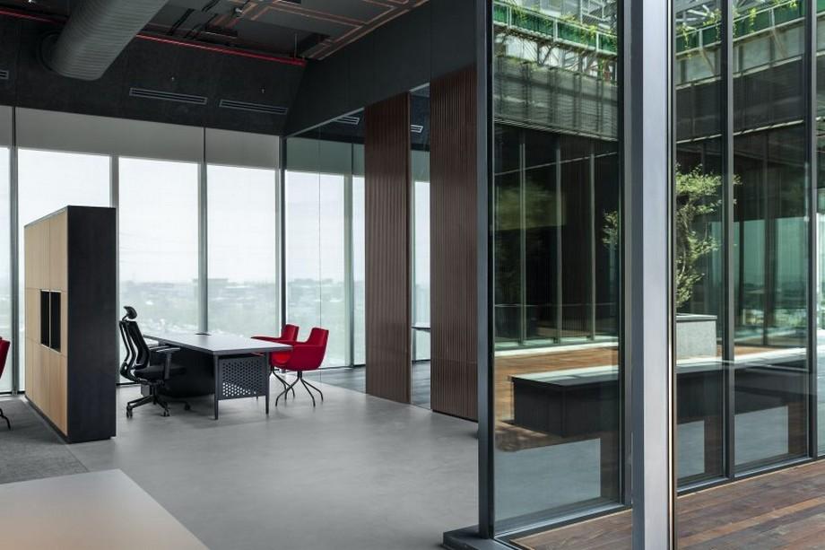 thiết kế văn phòng của tập đoàn Oberoi
