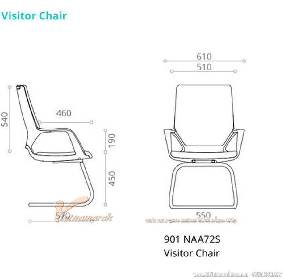 Tiêu chuẩn về kích thước ghế giám đốc