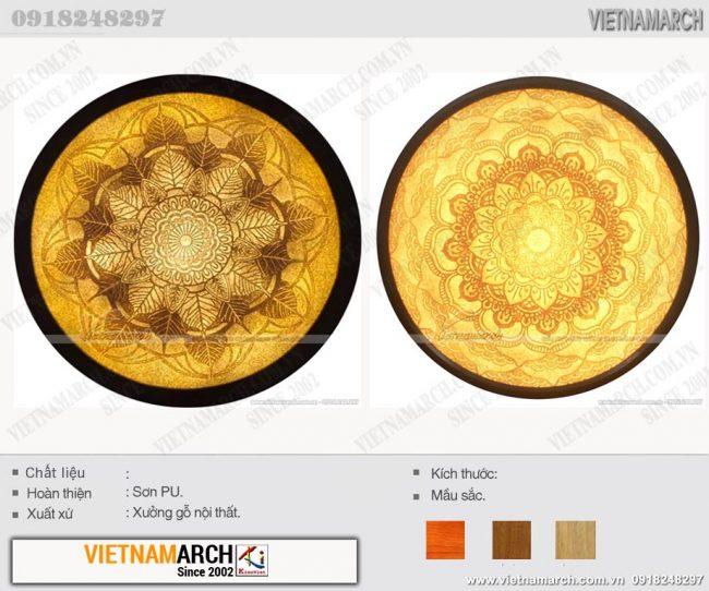 Tranh giấy dừa, tranh trúc chỉ Mandala