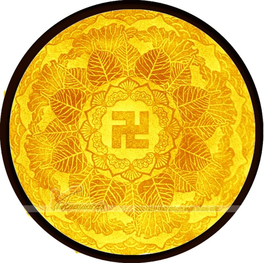 Mẫu tranh giấy dừa, tranh trúc chỉ Mandala