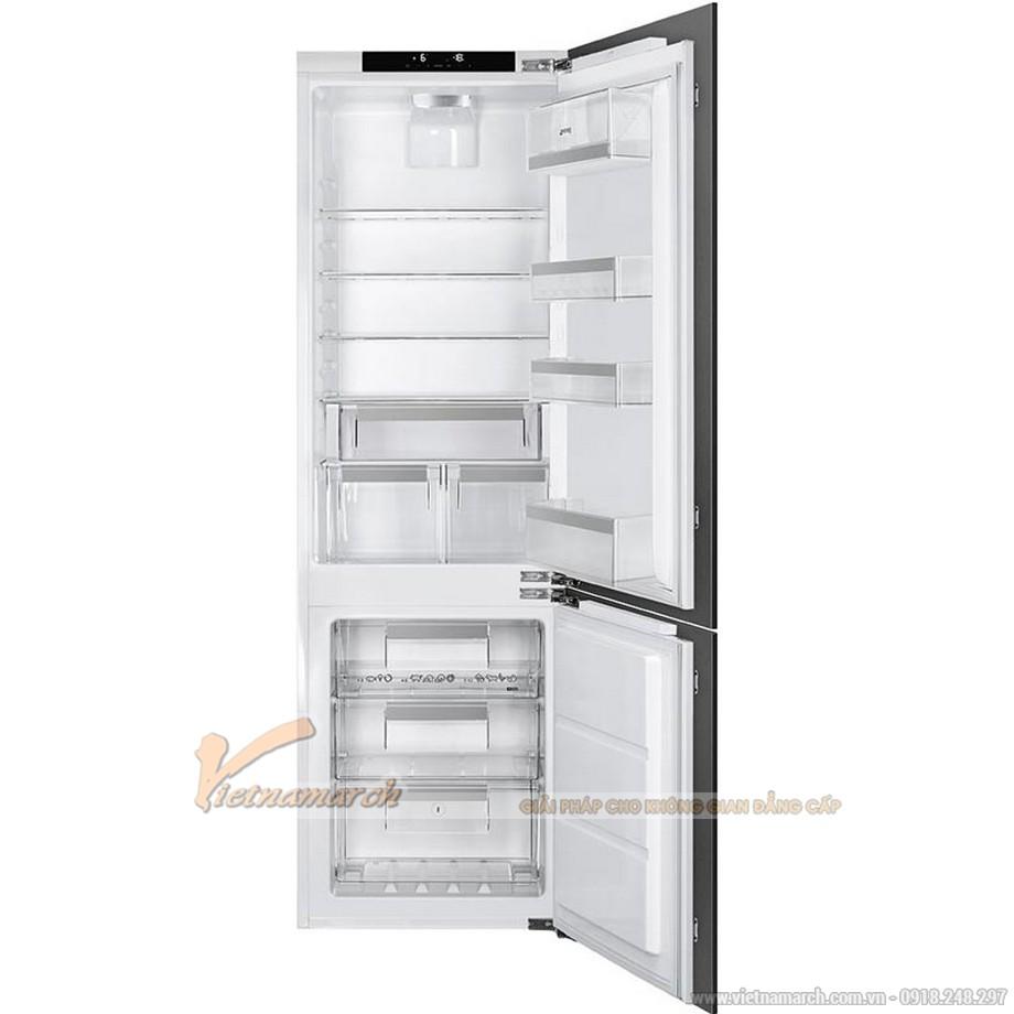 Tủ lạnh 2 cánh SMEG CD7276NLD2P1, 247 lít