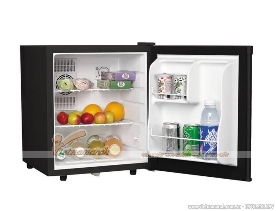 Tủ lạnh Hafele mini cửa đen HF-M42S, 42 lít