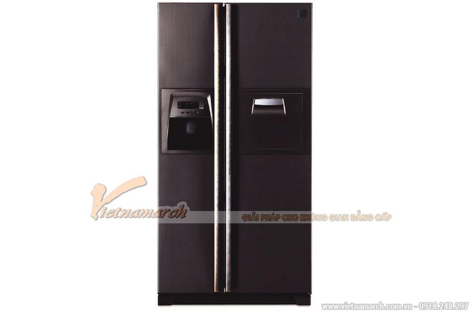 Tủ lạnh Side By Side Teka NFD 680 Black 604 lít