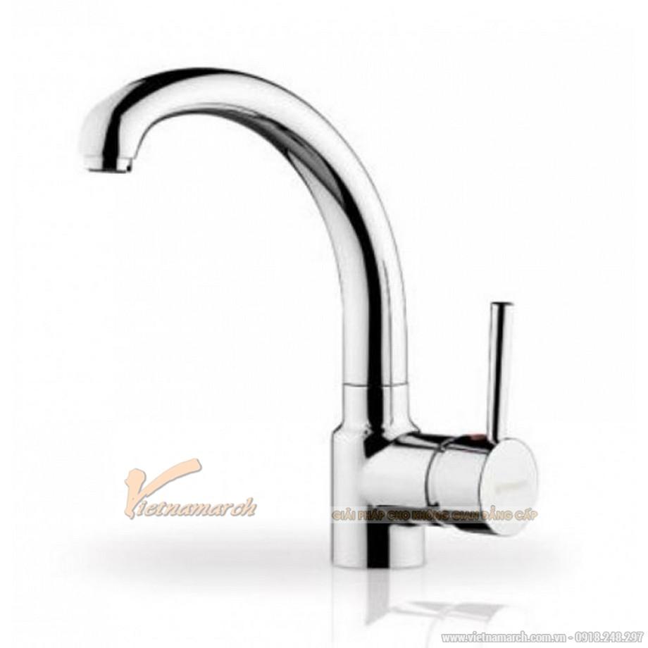 Vòi rửa bát Bosch HMH.095151001- Armonica nóng lạnh, dạng cong