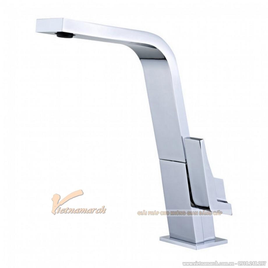 Vòi rửa bát Teka Icon 339150210 nóng lạnh, cổ vòi dạng phẳng