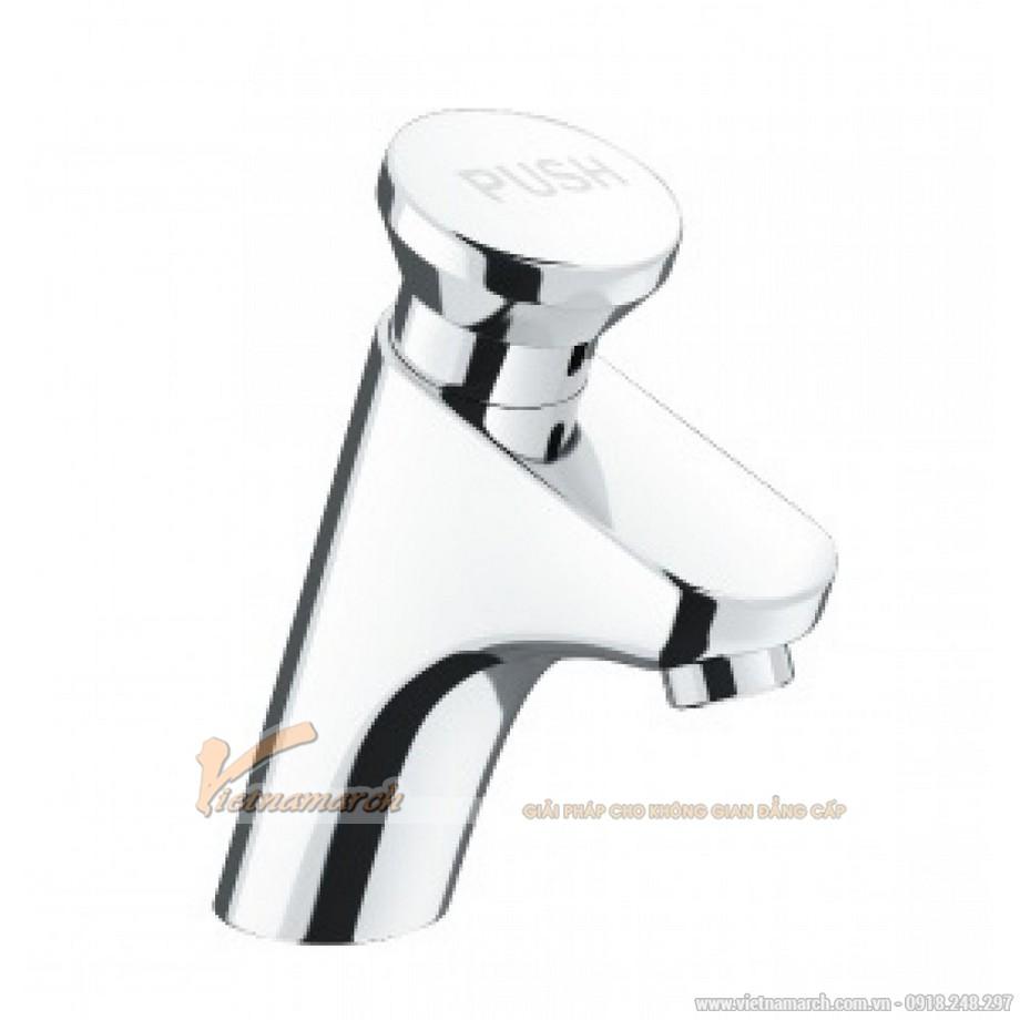 Vòi rửa mặt ngắt nước tự động Inax LFV-P02B nước lạnh