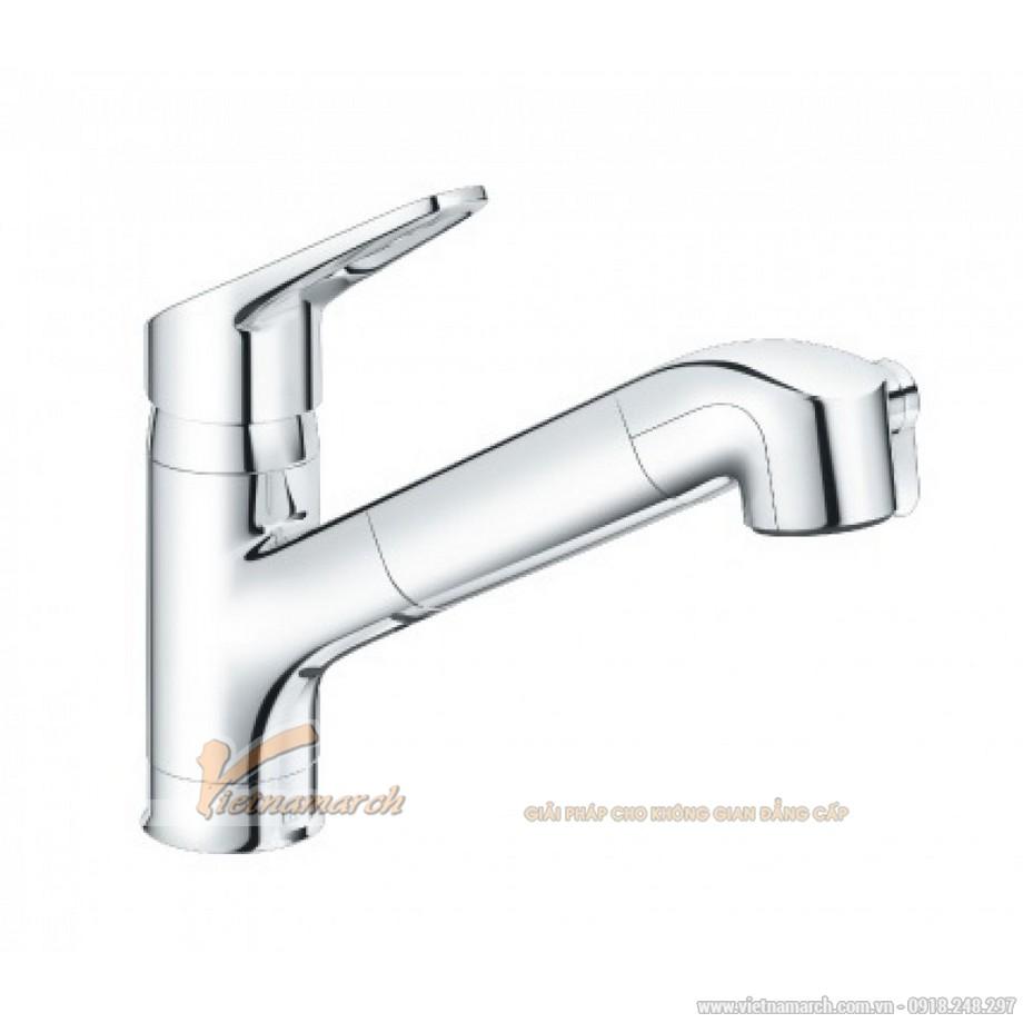 Vòi rửa bát Inax nóng lạnh, thẳng JF-AB466SYX(JW)