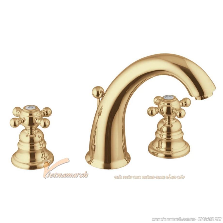 Vòi rửa mặt 3 lỗ HAFELE VICTORIA GOLD 110 589.10.170