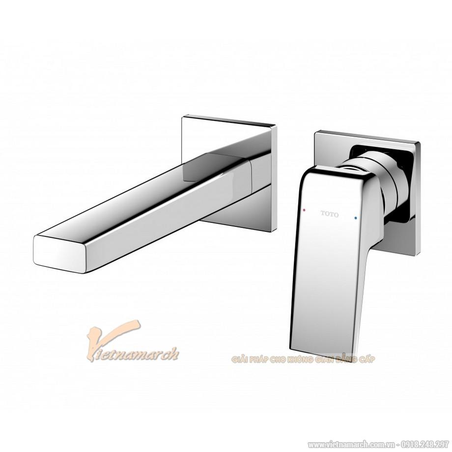 Vòi rửa mặt TOTO TLG10307B nóng lạnh gắn tường