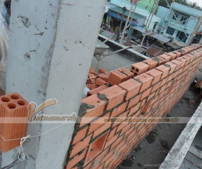 Cách xây tường chống nóng, cách nhiệt 2 lớp