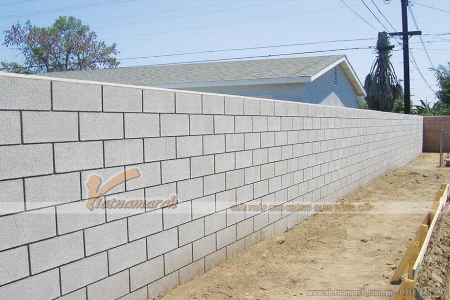 Cách xây tường chống nóng, cách nhiệt bằng gạch block