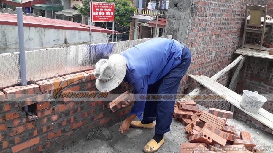Cách xây tường chống nóng, cách nhiệt bằng vật liệu cách nhiệt
