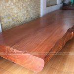 Gỗ gõ đỏ – loại gỗ quý đắt đỏ trong nội thất nhà ở