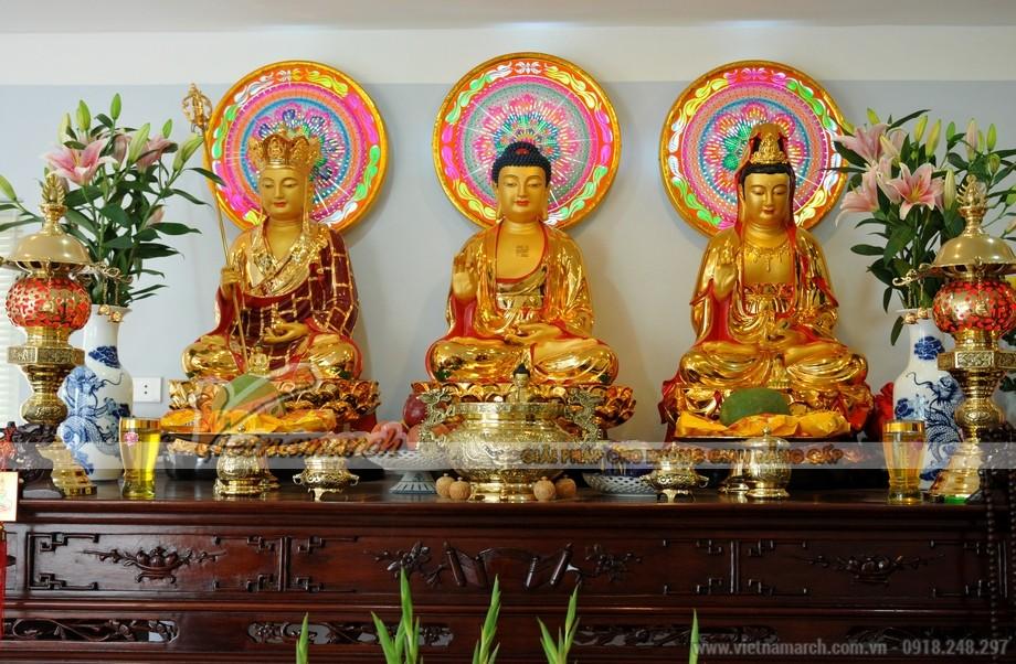 Cách bố trí ban thờ Phật