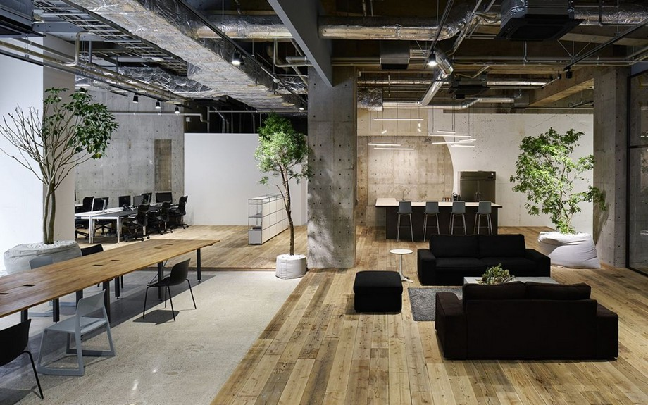 Thiết kế nội thất cho văn phòng