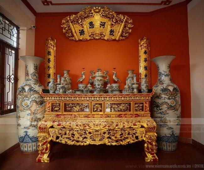 Cách lập bàn thờ Cửu Huyền