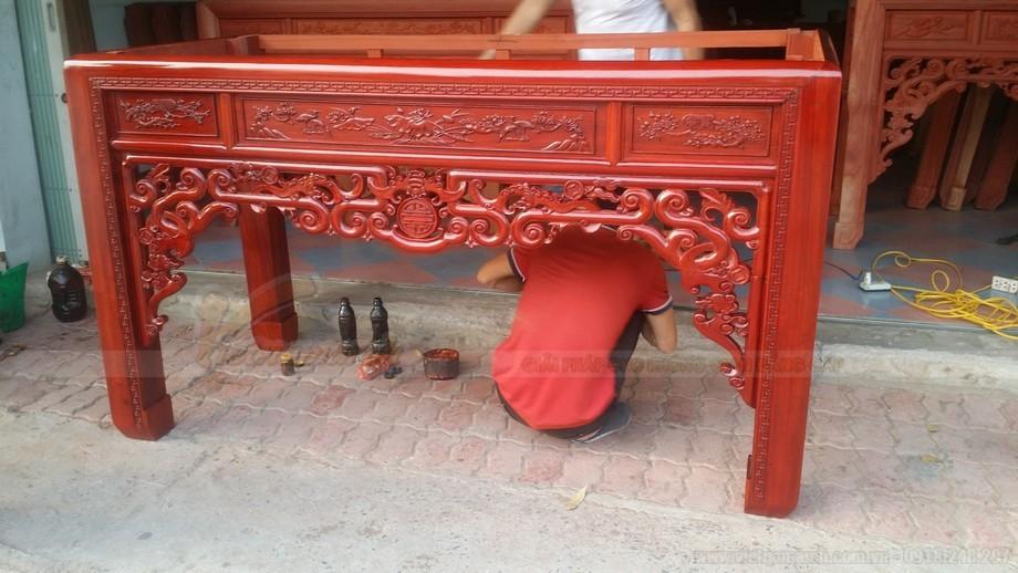 Cách lựa chọn gỗ cho bàn thờ chung cư hiện đại