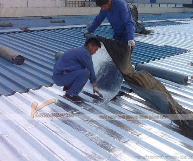 Giải pháp chống nóng cho mái tôn với vật liệu cách nhiệt