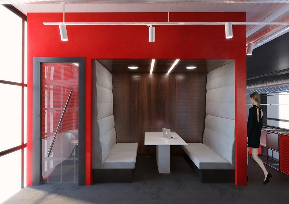 Booth ngồi riêng tư