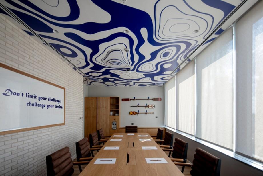 Không gian phòng họp trong coworking space