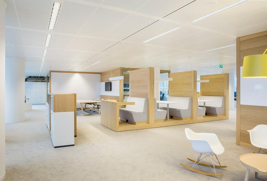 Thiết kế văn phòng mang tính tương tác cao