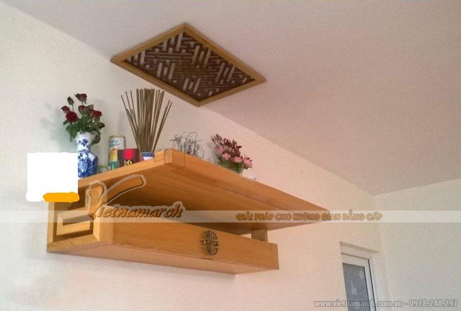 Mẫu bàn thờ treo