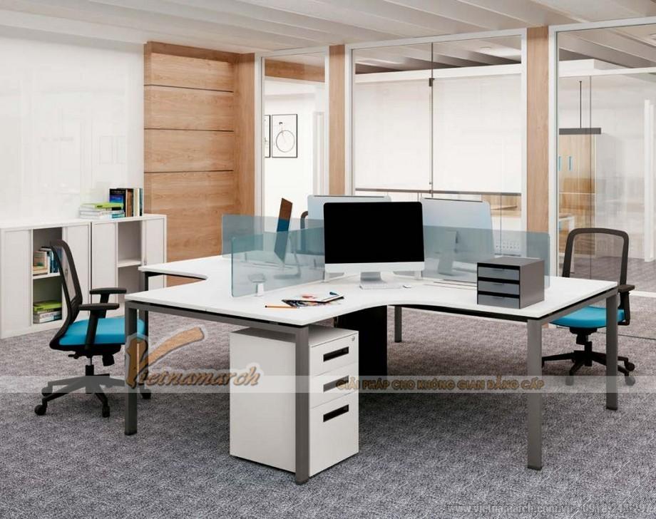 Mẫu bàn làm việc văn phòng đẹp