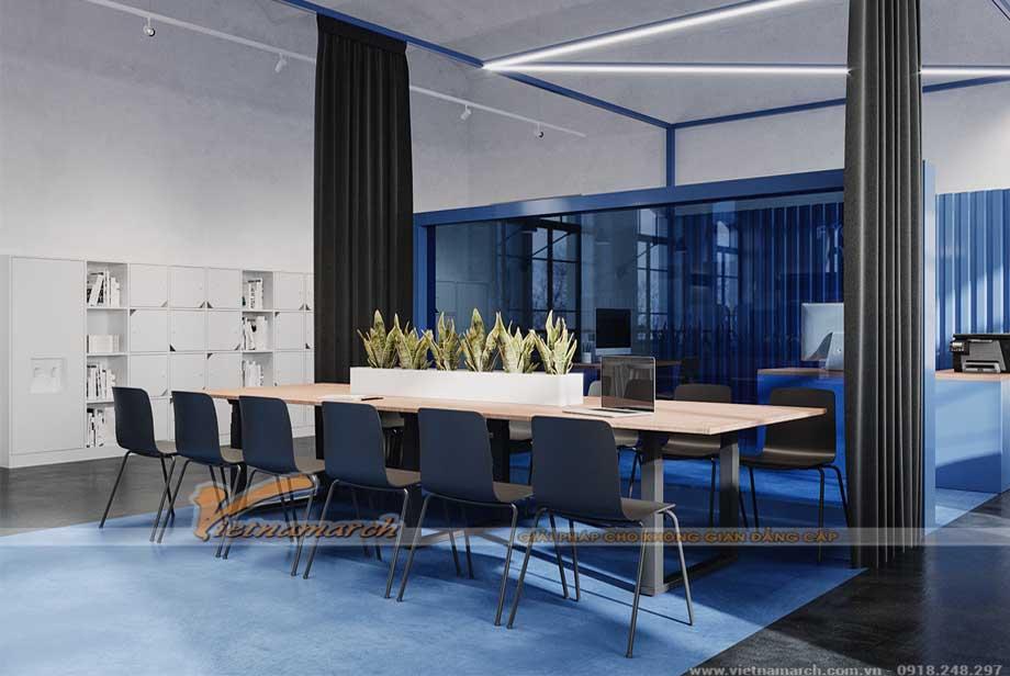Mẫu thiết kế nội thất văn phòng từ 300m2 - 500m2