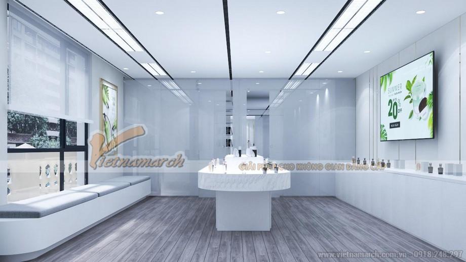 Mẫu thiết kế văn phòng showroom bán hàng