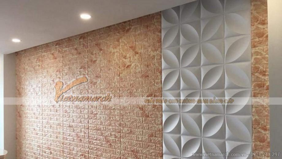 Tấm dán tường giả gạch cách nhiệt