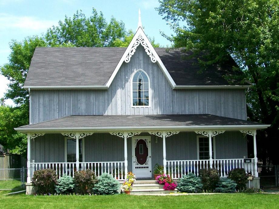 Phong cách kiến trúc biệt thự Gothic