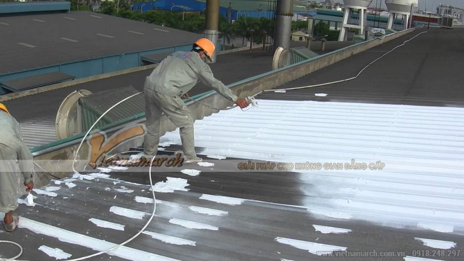 Sơn cách nhiệt, chống nóng mái tôn