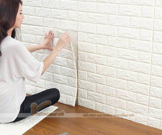 Sử dụng tấm dán cách âm cho tường vách