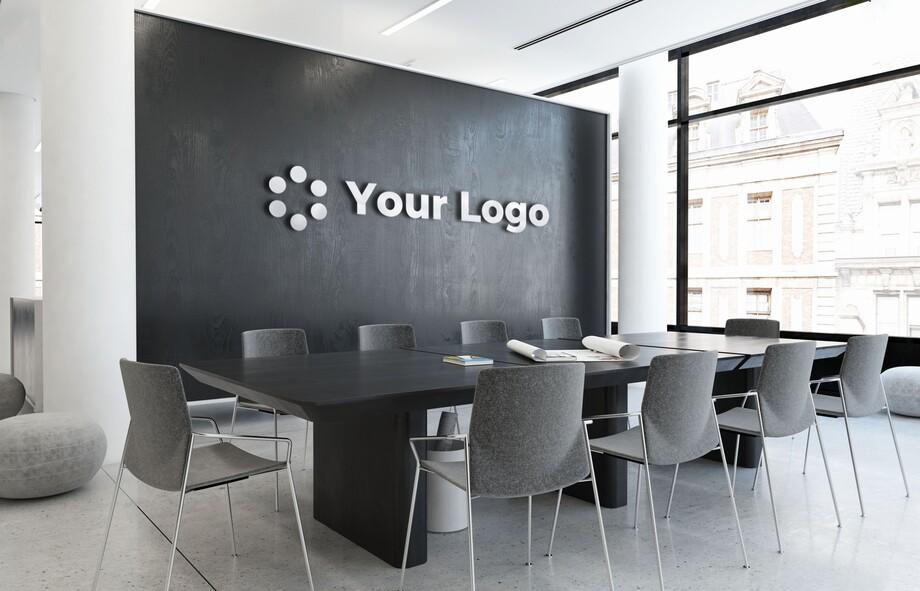 Background văn phòng công ty