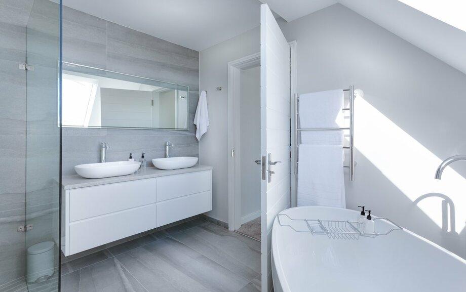 Thiết kế phòng tắm biệt thự 100m2