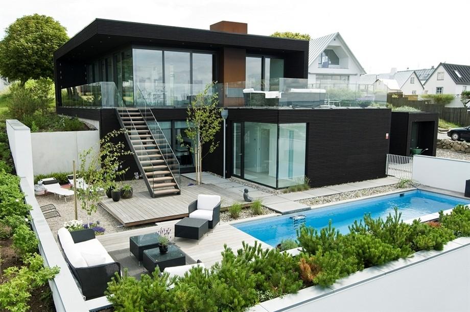 Phong cách thiết kế biệt thự xanh - Eco villas style