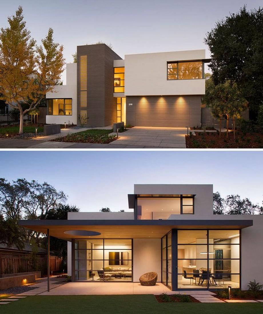 Mẫu thiết kế biệt thự hiện đại, đơn giản