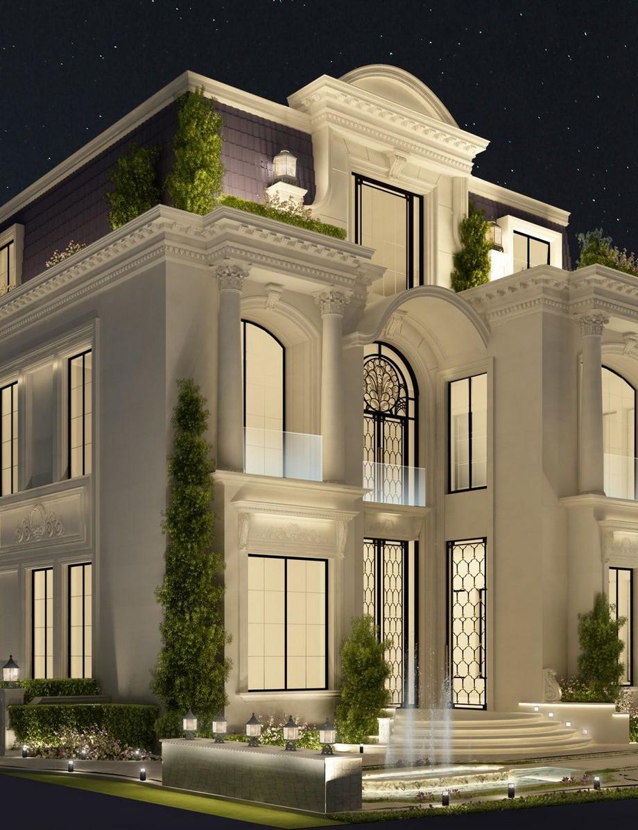 Phong cách kiến trúc biệt thự tân cổ điển