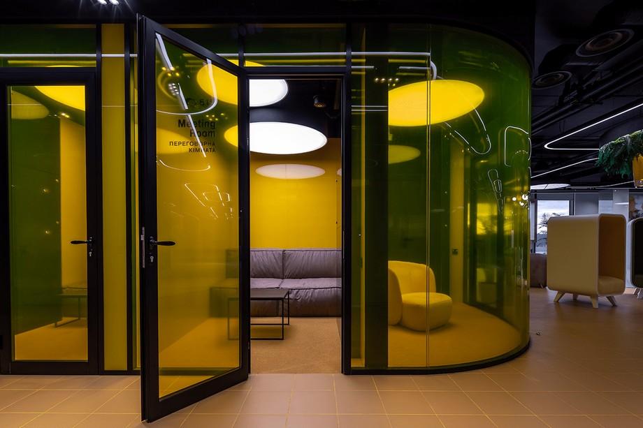 Không gian phòng họp coworking space hiện đại