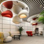 Mô hình coworking space điển hình cho sự sang trọng, hiện đại và tiện nghi