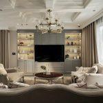 Mẫu thiết kế nội thất biệt thự đẹp và sang trọng theo phong cách tân cổ điển