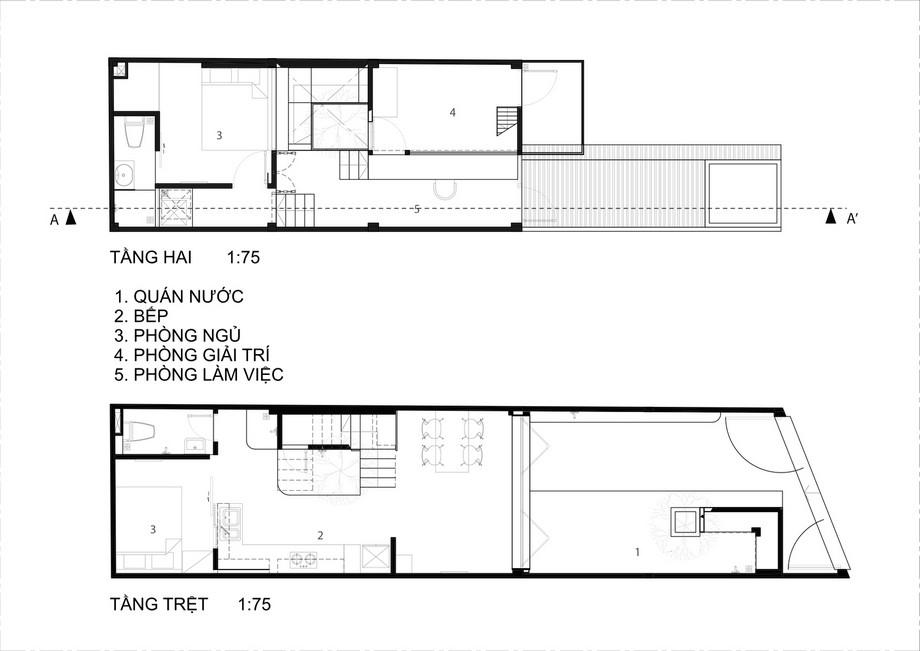 Thiết kế nhà phố độc đáo